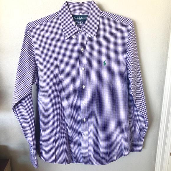 a398bda6073 Custom Fit Gingham Shirt